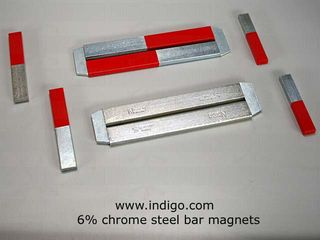 Steel-bar-magnets