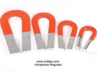 Steel-horseshoe-magnets